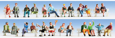 Walthers SceneMaster HO Scale People/Figures Festival Goers/Party (30-Pk)