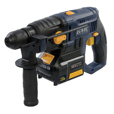 18V SDS Plus Hammer Drill GMCSDS18  GMC Drills SDS Drills