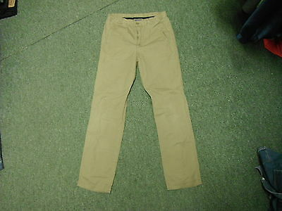"Geox Respira Jeans Waist 27"" Leg 27"" Faded Brown Boys 12 Yrs Jeans"
