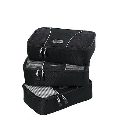 eBags Small Packing Cubes - 3pc Set 10 Colors Travel Organizer NEW