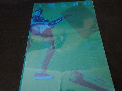 Twang Fender Japan Catalog Book in 1983 Stratocaster Telecaster Jazz Bass Guitar