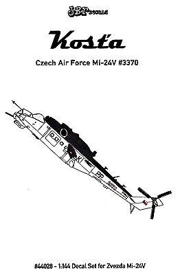 jbr44028/ JBr Decals - Mi-24V - Czech Air Force - 1/144 - TOPP DECALS