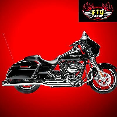 MagnaFlow Ness-Comp Complete Exhaust Chrome for 2009-2016 Harley Touring 7211503