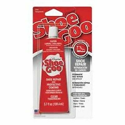 NEW Shoe Goo 110011 Clear 3.7oz Adhesive Glue for Leather Vinyl Rubber *
