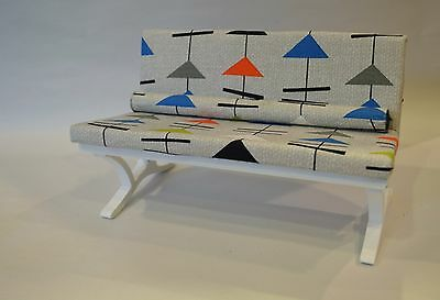 1:6 Scale Furniture for Fashion Dolls  Action Figures 4215(B) Atomic Age Sofa