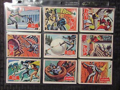 1966 BATMAN Red Bat Topps Tradings Cards LOT of 22 No Doubles FN