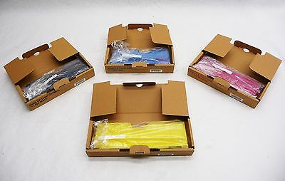 Lot 4 New Gestetner Type 125 LP Toner Cassette CYMB 400971 400985 400977 400983