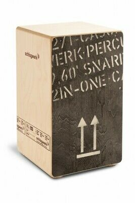 Schlagwerk CP404BLK Beechwood Playing Surface Cajon