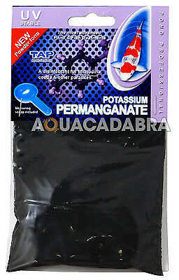 Tap Potassium Permanganate Pond Professional Water Treatment Koi Fish Parasite