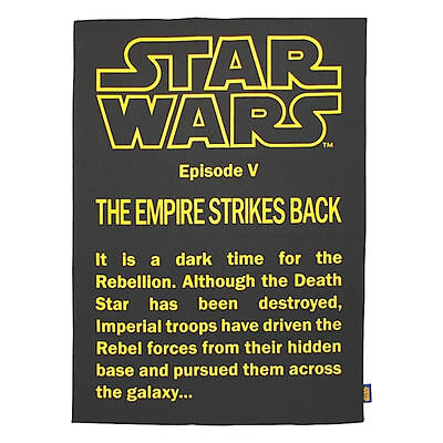 Star Wars The Empire Strikes Back 100% Cotton Tea Towel In A Tube Dish Cloth