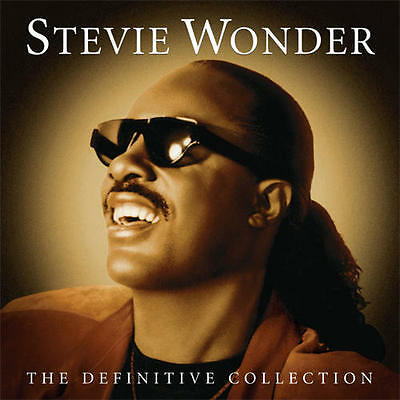 Stevie Wonder The Definitive Collection 2 Cd Set (Greatest Hits/Very Best Of)