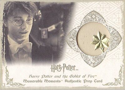 Harry Potter Memorable Moments Christmas Cards P6 Prop Card Rare Star Variant