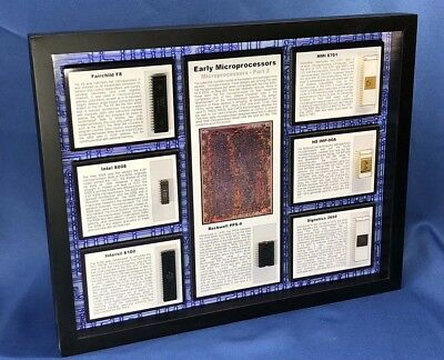 Early Microprocessors Part 2 - PPS-4, F8, Intel 8008, 6100, 6701, IMP-00A, 2650