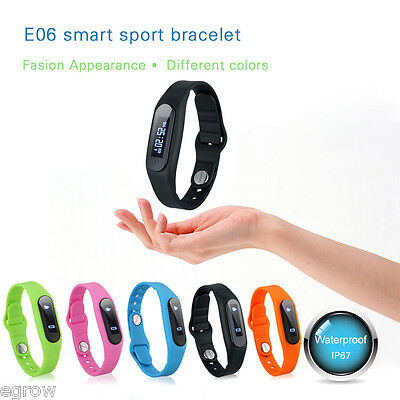 Smart Health Bracelet Watch Fitness Bluetooth Pedometer Sleep Tracker for Iphone