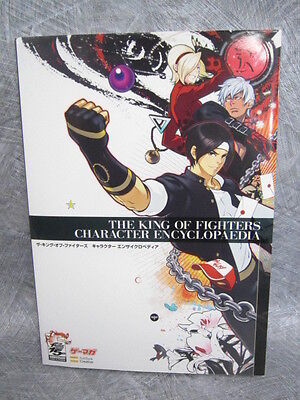 KING OF FIGHTERS CHARACTER ENCYCLOPEDIA 15th Anniv Art Illustration Book *