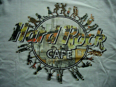 HRC Hard Rock Cafe Manchester City Tee Shirt L NWT New