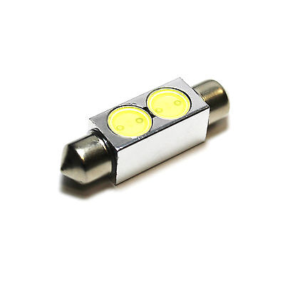1x Audi A8 D2 Bright Xenon White Superlux LED Number Plate Upgrade Light Bulb