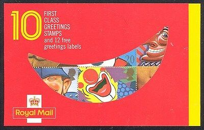 Great Britain 1990 Smiles Booklet Sc# 1313a NH