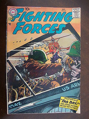 Our Fighting Forces #26 FA/G Tag Day