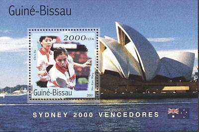 (206338) Olympics, Tabletennis, China, Guinea-Bissau