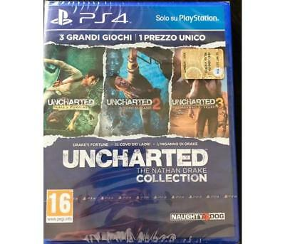 Giochi Sony PS4 SONY COMPUTER - UNCHARTED The Nathan Drake Collection PS4