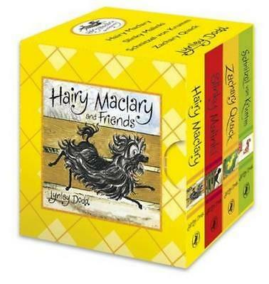 NEW Hairy Maclary and Friends Little Library By Lynley Dodd Board Book