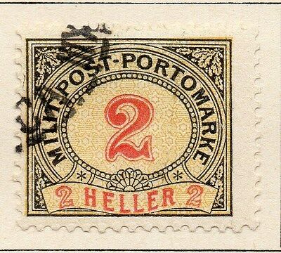 Bosnia Herzegovina 1904 Postage Due Early Issue Fine Used 2h. 045055