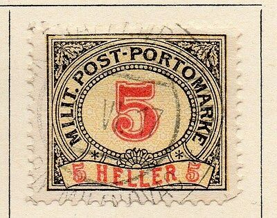 Bosnia Herzegovina 1904 Postage Due Early Issue Fine Used 5h. 045058