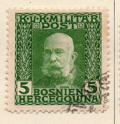 Bosnia Herzegovina 1912 F Joseph Early Issue Fine Used 5h. 045086