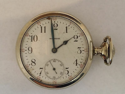 1903 Waltham Pocket Watch Model 1899 16S 15 Jewels