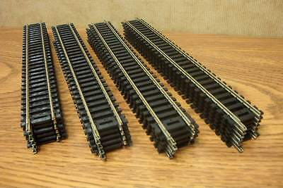 ATLAS  24 PIECES 9 inch STRAIGHT TRACK NICKEL SILVER CODE 100 HO SCALE
