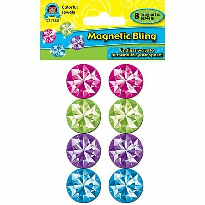 Colorful Bling Magnetic Jewels Teacher Created Resources TCR77221