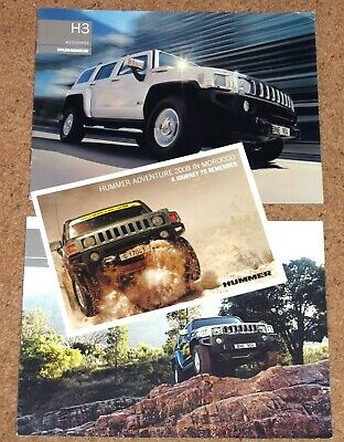 2007 HUMMER H3 Price List. Accessories Brochure, Tech Data Brochure, Morocco Adv