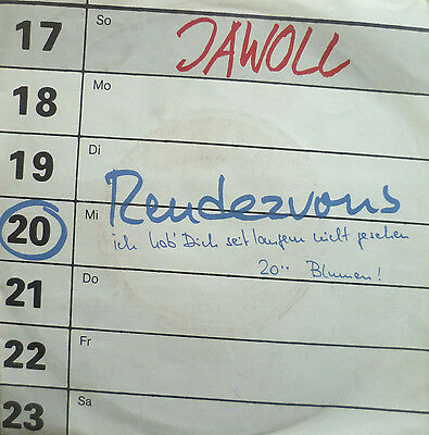 """7"""" NDW 1983 ! JAWOLL : Rendezvous  // VG+ \"""