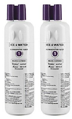 (2) ea Whirlpool  EDR1RXD1 W10295370A 46-9930 Filter1 Refrigerator Water Filter