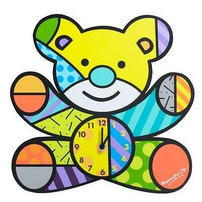 Romero Britto Bebe Baby Bear Wall Clock Retired Pop Art Nursery 4037395