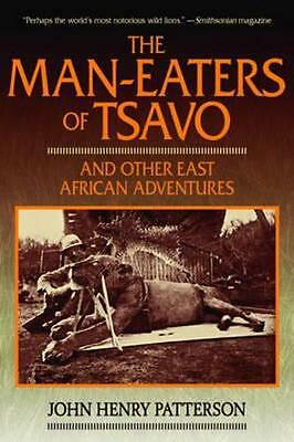 NEW The Man-Eaters of Tsavo By John Henry Patterson Paperback Free Shipping