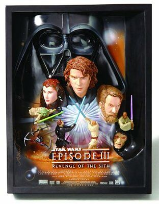 Star Wars Revenge of the Sith Sculpted Poster 3-D by Code 3