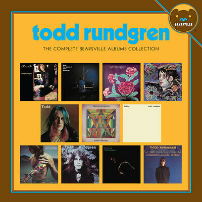 Todd Rundgren - Complete Bearsville Albums Collection [New CD] Boxed Set