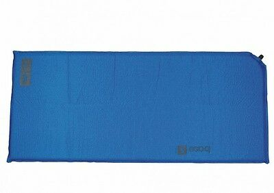 BASE S SELF INFLATE MAT air bed airbed camp lightweight thermalite blue
