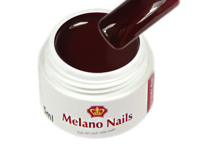 Colour UV Gel Made in Germany 5ml Colour Red-Brown