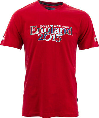 Canterbury RWC 2015 England Script Junior Top - Red