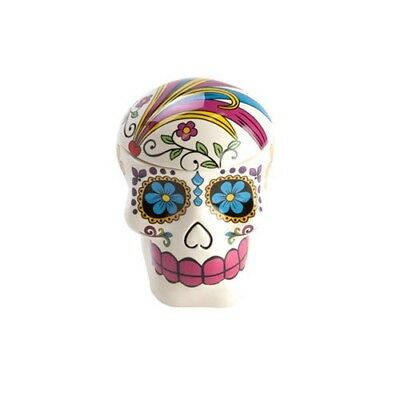 Day of The Dead Candy Skull Cookie Jar Skeleton Cookies Biscuits Creative Food