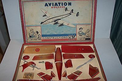 MS-TOYS ! Flugzeug-Baukasten Aviation Moderne RM Constructions