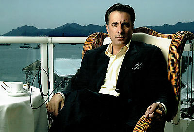 Andy GARCIA Signed Autograph 12x8 Photo AFTAL COA Cuban American Actor