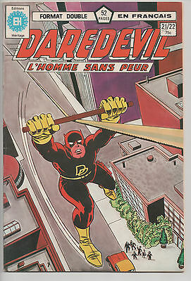 DAREDEVIL #21/22 french comic français EDITIONS HERITAGE