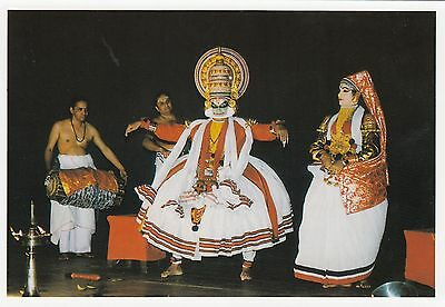 (82132) Postcard India Kerala Kathakali Dance - un-posted