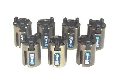 Lot Of 7 Schunk Mpz 20 Grippers 340490