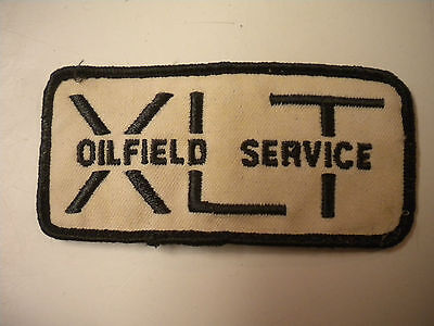 Vintage XLT Oilfield Service Inc. Embroidery Patch