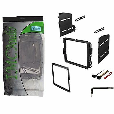 mercedes benz double 2 din dash radio stereo install kit wire double din dash kit stereo radio installation install kit w wire harness antenna